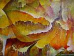 Fournaise     Acrylique sur toile   ( 92x65 )
