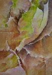 Chrysalide    Acrylique sur toile (27x40)