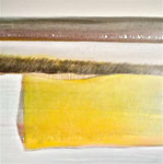Yellow square - 80/80 cm, huile sur toile - sold.