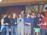 Die Organisatoren des Wiesenfests 2005