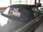Mercedes-Benz r107 mit neuem Verdeck
