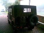 DKW Munga mit neuer Verdeckplane incl. Seitenteilen