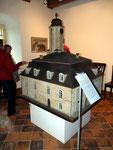 Altes Rathaus - ein Holzmodell von dem Holzschnitzer Kindermann