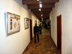 Von hier gelangt man in die neu eingerichtete Ausstellungsräume