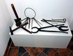 Sammlung von alten Werkzeug