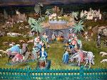 Stall, Maria, Josef und das Christuskind, Ochs und Esel