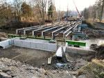 Neue Brücke wird gebaut