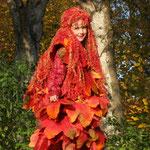 Fantasie und Wirklichkeit Fotografien und Gedichte Kathrin Steiger Herbst Herbstengel Herbstfee Engel Fee Elfe märchenhaft verträumt fantasievolle bunte Welt  Phantasie Fantasy Art Foto Kunst