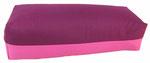 """Designer Yoga Bolster Colorline """"aubergine-pink"""""""