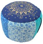 Meditationskissen Gr L  Blue Madurai