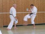 Lehrgang mit Dirk Heene 7. Dan in Müllheim 8.11.2008
