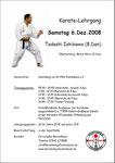 Tadashi Ishikawa 8. Dan 6.12.2008 in Achern