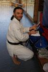 Neujahrstraining 1.1.2009 im Grütt