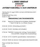 Einladung zum 1. Regio-Seminar