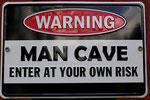 Der Woodsmith Man Cave Sign