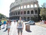 Benjamin und Marie mit dem Trabi nach Rom