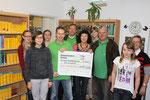"""08.10.2012  - Spendenübergabe an die Schulbibliothek der KGS """"Herzog Ernst"""""""