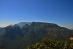 Three Rondavels am Blyde River Canyon