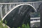 Bloukrans River Bridge - der höchste Bungee Jump der Welt - 220 m