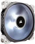 Corsair ML140 Pro LED PC-Gehäuselüfter (140 mm, mit Premium Magnetschwebetechnik, Weiß LED, Single Pack)