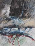 1985 Paysaje Metafisico  Hommage a Orozco  (5) 50x65cm