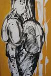 Idole, Acryl auf Leinwand, 2008, 40x60cm (5)