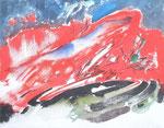 Erdleben, 2010 Acryl auf Leinwand, 60x40cm (2)