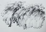 Zyklus Oberer Kamp, Tusche auf Papier, 42x30cm (10)