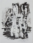 Tuschearbeiten (2), 28x38cm
