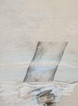 1985 Paysaje Metafisico  Hommage a Orozco  (4) 50x65cm