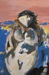 Idole, Acryl auf Leinwand, 2008, 40x60cm (6)