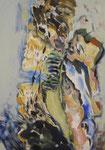 Idole, Acryl auf Leinwand, 2008, 70x100cm