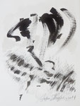 Tuschearbeiten (1), 28x38cm