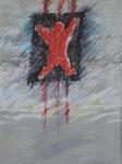 1985 Paysaje Metafisico  Hommage a Orozco  (6) 50x65cm