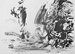 Zyklus Eisernes Tor, Tusche auf Papier, 59x42cm (2)