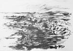 Zyklus Eisernes Tor, Tusche auf Papier, 59x42cm (1)