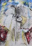 American Dream, Ölkreide auf Papier, 2004, 50x70cm (2)