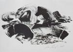 Zyklus Oberer Kamp, Tusche auf Papier, 42x30cm (1)