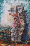 American Dream, Ölkreide auf Papier, 2004, 50x70cm (1)