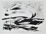 Zyklus Oberer Kamp, Tusche auf Papier, 42x30cm (5)