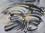Zyklus Jazz Hommage a Heinz von Hermann, 2011, Acryl auf Leinwand (2) 80x60cm