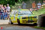 WP1 der 45. ADAC Rallye Oberehe