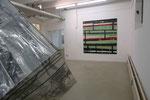 Ausstellungsansicht: ASHES, TAPES, COLOR, Haus 10, FFB  Foto: Monika Hum