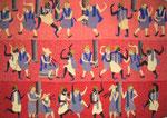 Etruscos /Kelim/ varios textiles/ 1.10 x 078cms