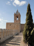 Antequera Huldigungsturm der Burg Alcazaba