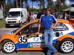 Rallyeweltmeister Marcus Grönholm, Finnland - Auf Anhieb Sieger Div. 1