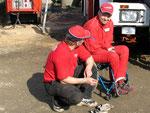 Mechaniker und Mats Öhman
