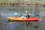 Kayak canoë en normandie