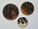 Caligulae (Soldatenstiefelchen), 2010, Linoldruck auf Holz
