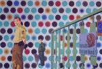 Vorsicht, bissiger Hund!, 2002, 100 x 150 cm